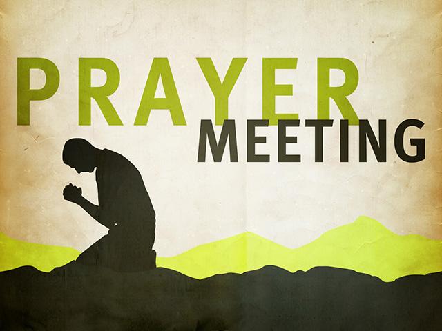 2014年5月29日(木)午後7:30~ 祈祷会